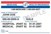 medicare card sm - Congress Schedules End to Insurance Coverage of Medicare Part B Deductible