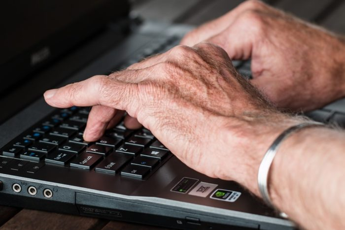 Image of scam literate older adults elder abuse computer scams  on estate management asset protection law site